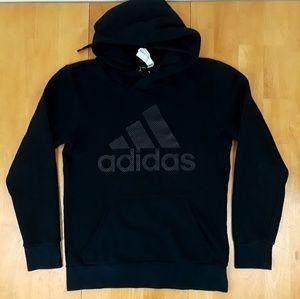 Adidas Climalite Triple black hoodie